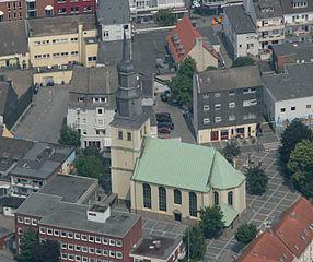Hamm Innenstadt und Martin-Luther-Kirche
