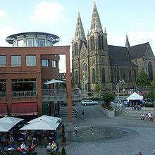 Solingen Clemensgalerie und Kirche