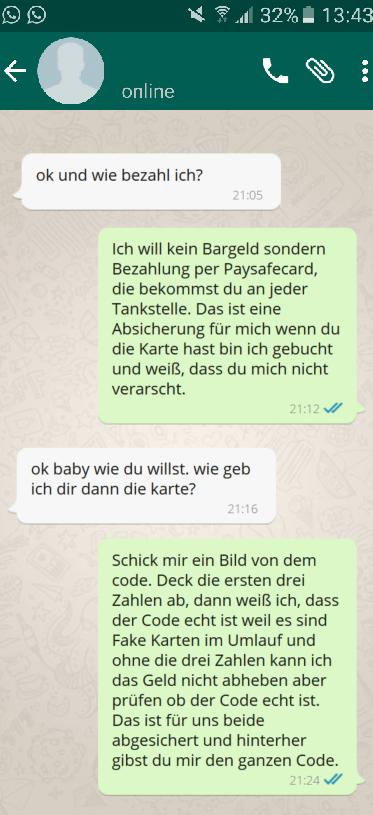 paysafecard zurückbuchen