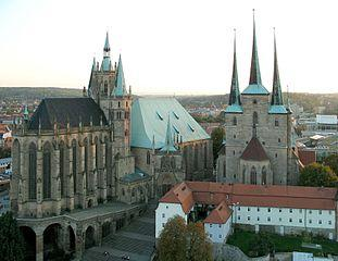 Hauptstadt von Thüringen: Erfurt