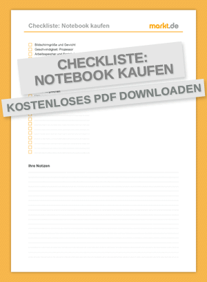 Checkliste Notebook