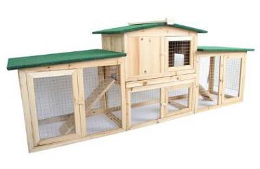 Bild von Kaninchenstall