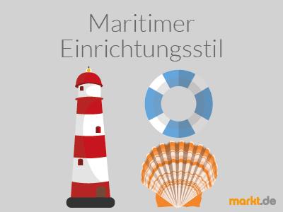 ratgeber einrichtungsstile: der maritime einrichtungsstil | markt.de, Innenarchitektur ideen