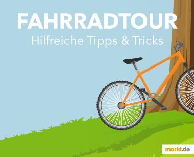 Grafik Fahrradtour Tipps