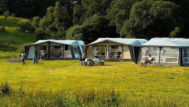 Campingurlaub mit Wohnwagen
