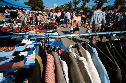 Klamottenflohmarkt