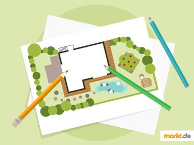 Grafik Garten planen