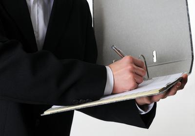 Eintragung des Notars