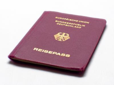Bild von Reisepass