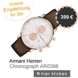 Armani Herrenuhr