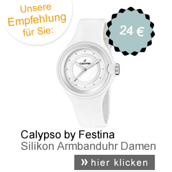 Calypso Damenuhr Weiß