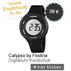 Calypso Digitaluhr Schwarz