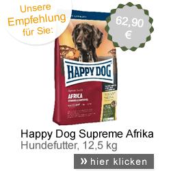 Hundefutter Happy Dog