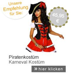 Kostüm Pirat Kleid