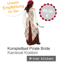 Kostüm Pirate Bride