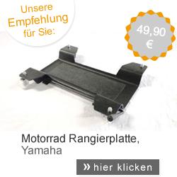 Motorrad Rangierplatte Yamaha