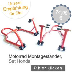 Motorrad Montageständer Set Honda