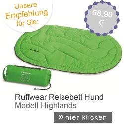 Ruffwear Reisebett Hund