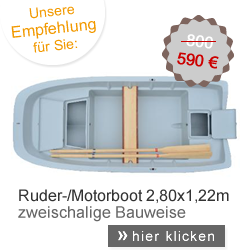 Ruderboot Kamila