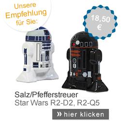 Star Wars Salz-/Pfefferstreuer