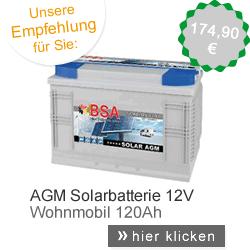 AGM Solarbatterie
