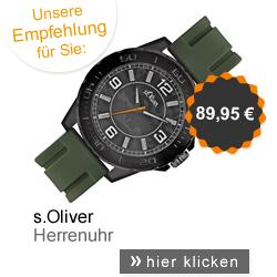 s.Oliver Herrenuhr