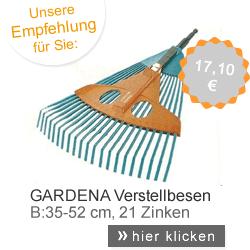 Verstellbesen Gardena