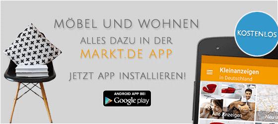 Möbel finden mit der markt.de App