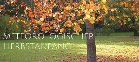 Meteorologischer Herbstanfang