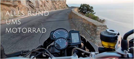 Mit dem Motorrad in den Urlaub
