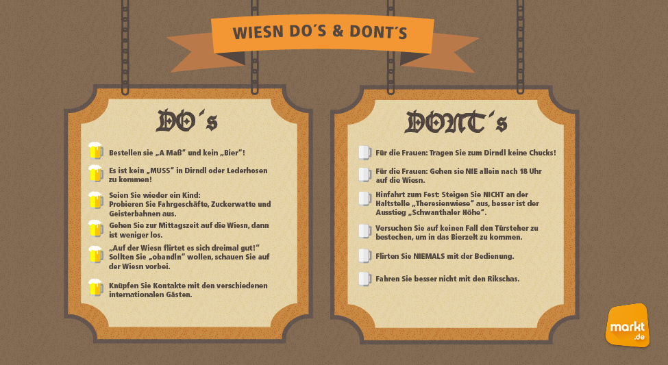 Do's and Don'ts Oktoberfest