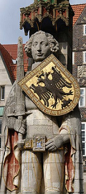 Roland vom Bremer Marktplatz