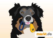 Grafik Hund mit Clicker