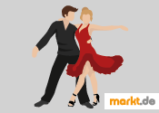 Grafik tanzendes Paar