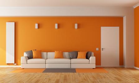 Ratgeber zu m bel wohnen for Orange wandfarbe wirkung