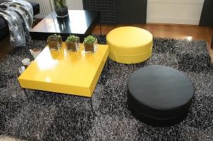 die farbe gelb als strahlende farbe im wohnzimmer | markt.de - Wohnzimmer Gelb Gestrichen