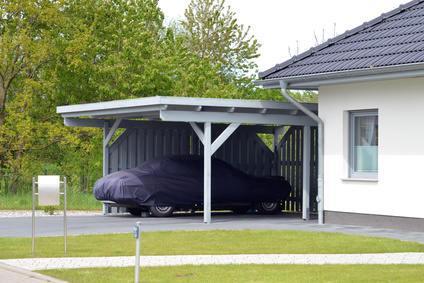 carport oder garage vor und nachteile der berdachten. Black Bedroom Furniture Sets. Home Design Ideas
