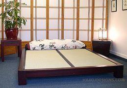Japanisches Bett