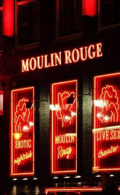 Nachtclub Moulin Rouge in Paris