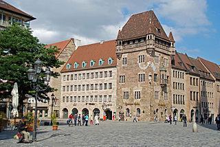 Nürnberg. Nassauer Haus und Markt