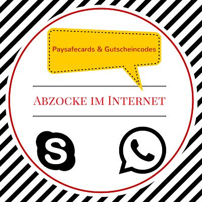Abzocke paysafecard und Gutscheincodes