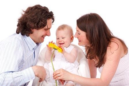 Bild glückliche Familie