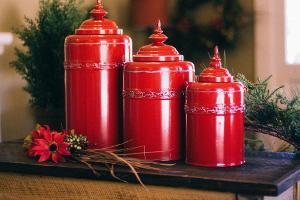 Bild rote Urnen