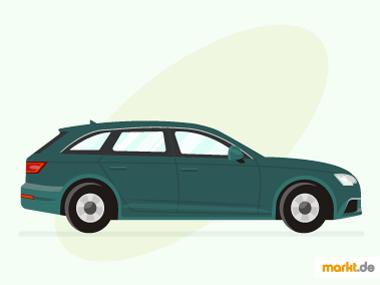Grafik Audi A4 Avant