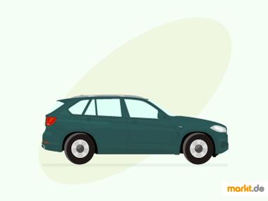 Grafik grüner BMW X5