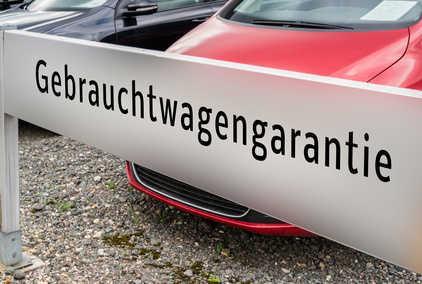 Bild Gebrauchtwagenkauf Garantie