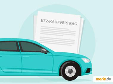 Grafik Kaufvertrag KFZ / Auto