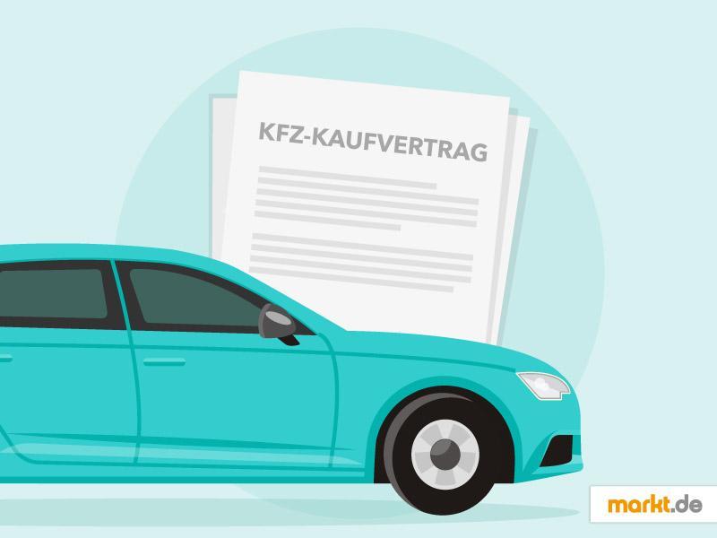 Kfz-Kaufvertrag: Tipps und Mustervertrag | markt.de