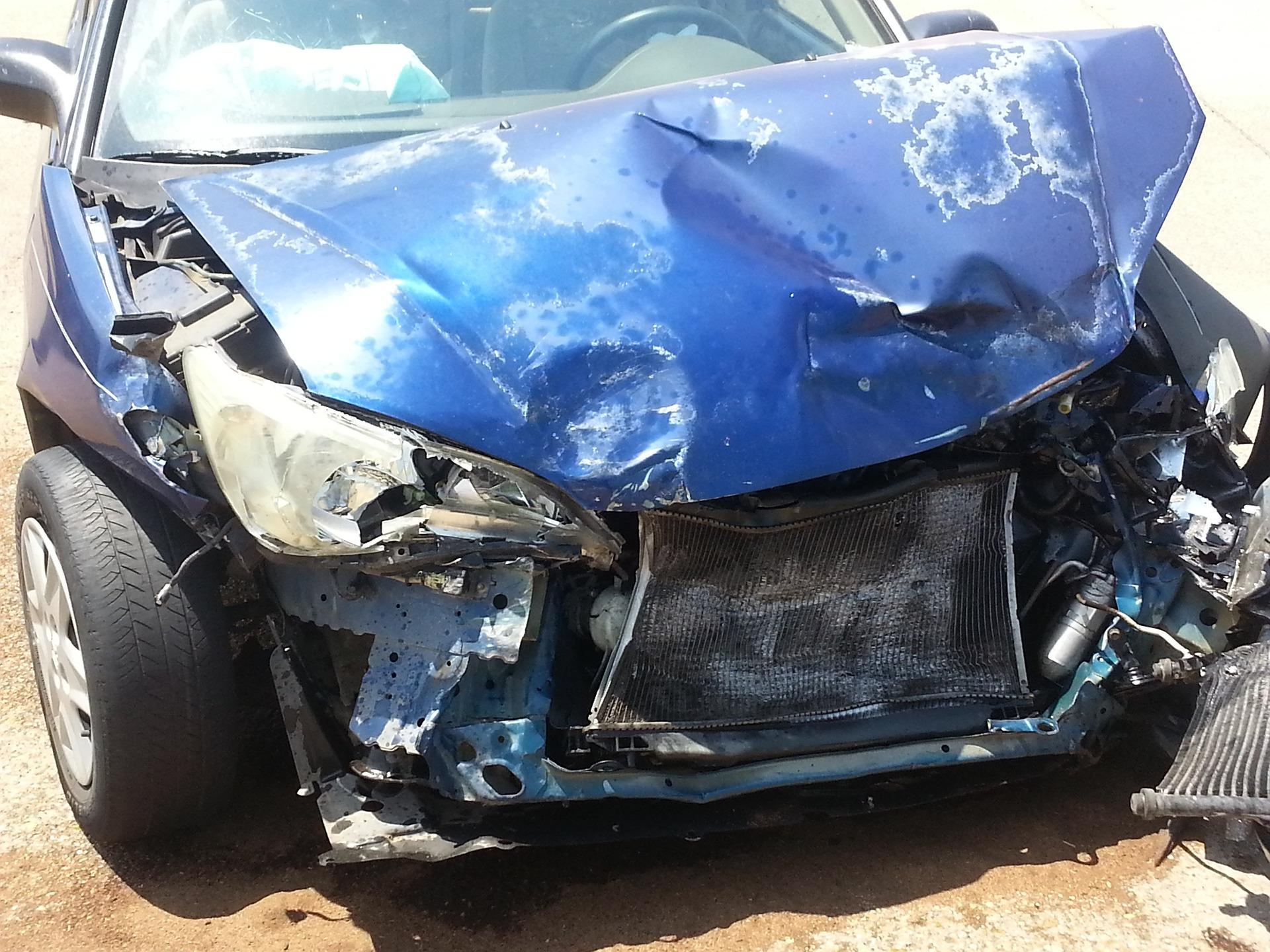 Bild Unfallauto