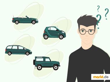 Grafik Welches Auto passt zu mir?
